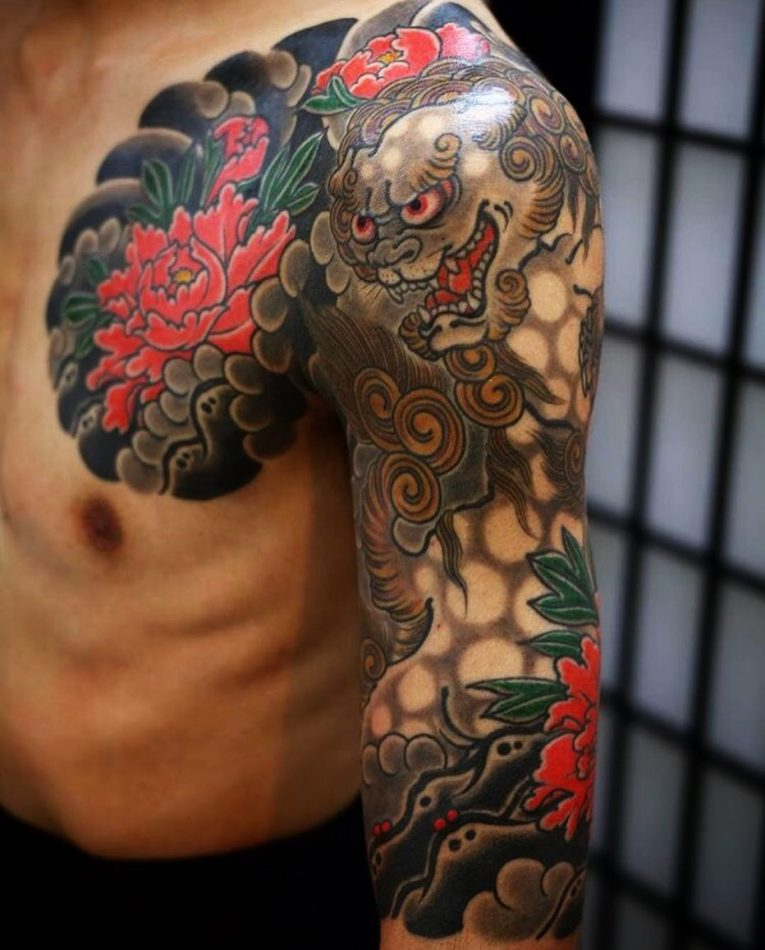 Foo Dog Tattoo 66