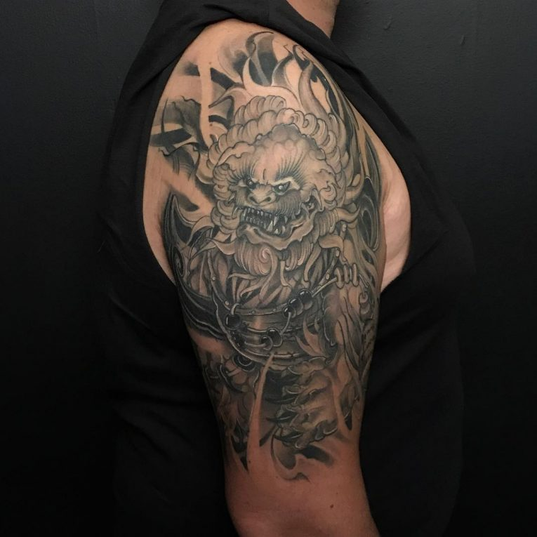 Foo Dog Tattoo 67