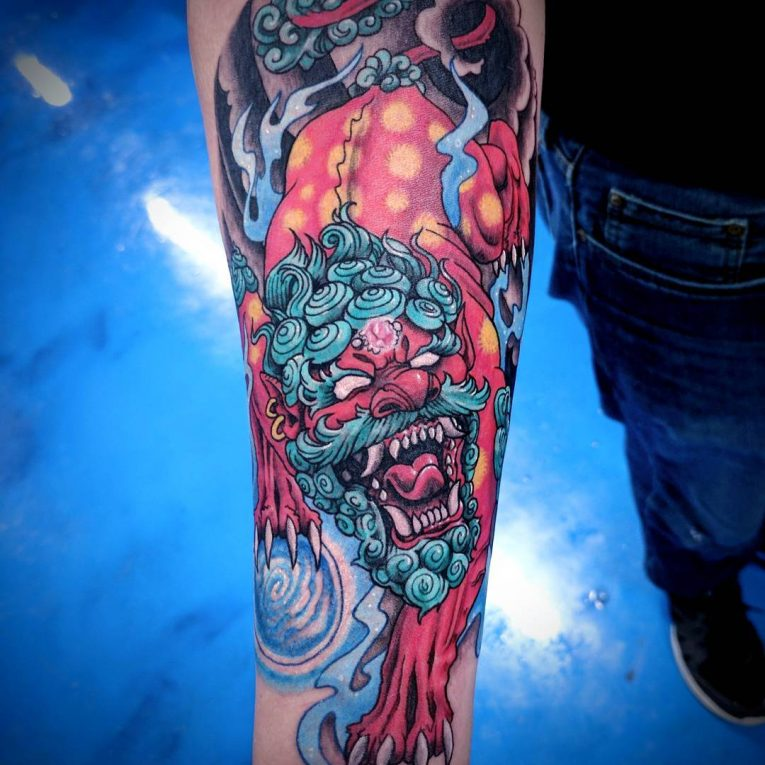 Foo Dog Tattoo 70