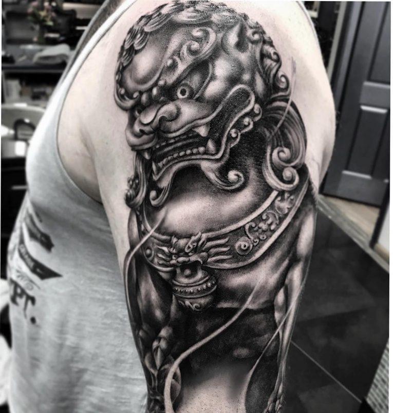 Ongebruikt 75+ Fantastic Foo Dog Tattoo Ideas– A Creature Rich In Symbolic UK-43