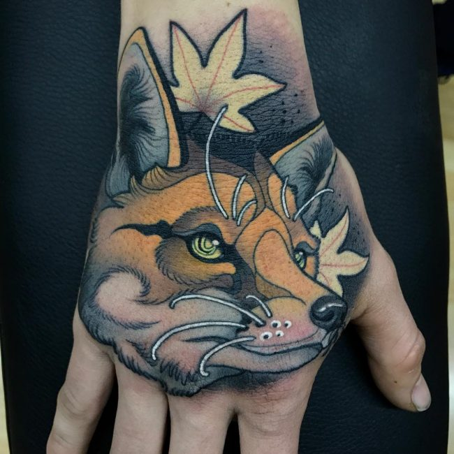 Fox Tattoo 106