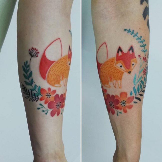 Fox Tattoo 109