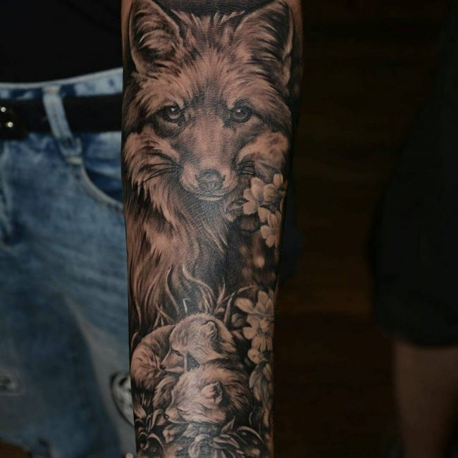 Fox Tattoo 111