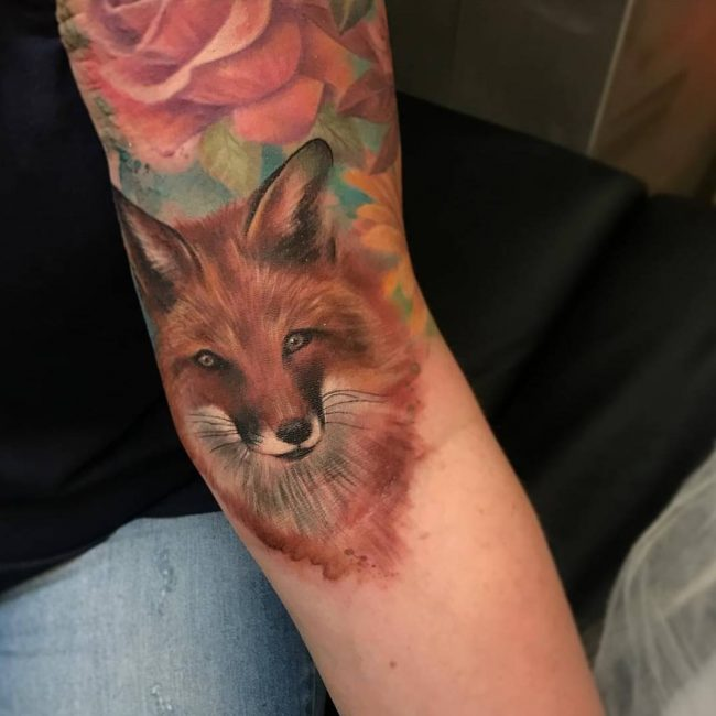 Fox Tattoo 112