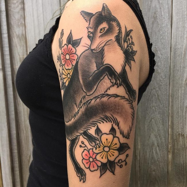 Fox Tattoo 113