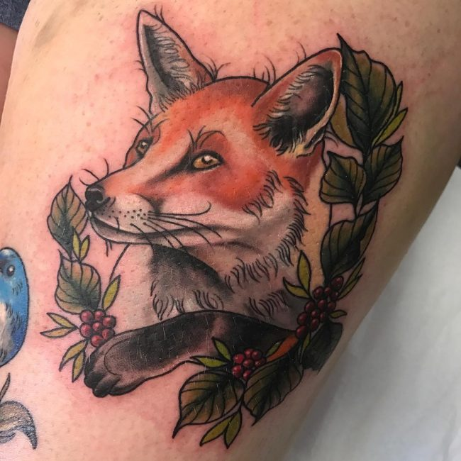 Fox Tattoo 115