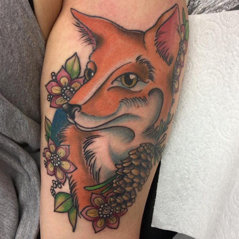 Fox Tattoo 119