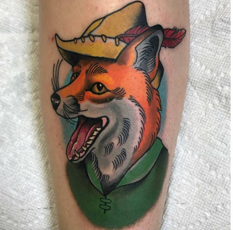 Fox Tattoo 120