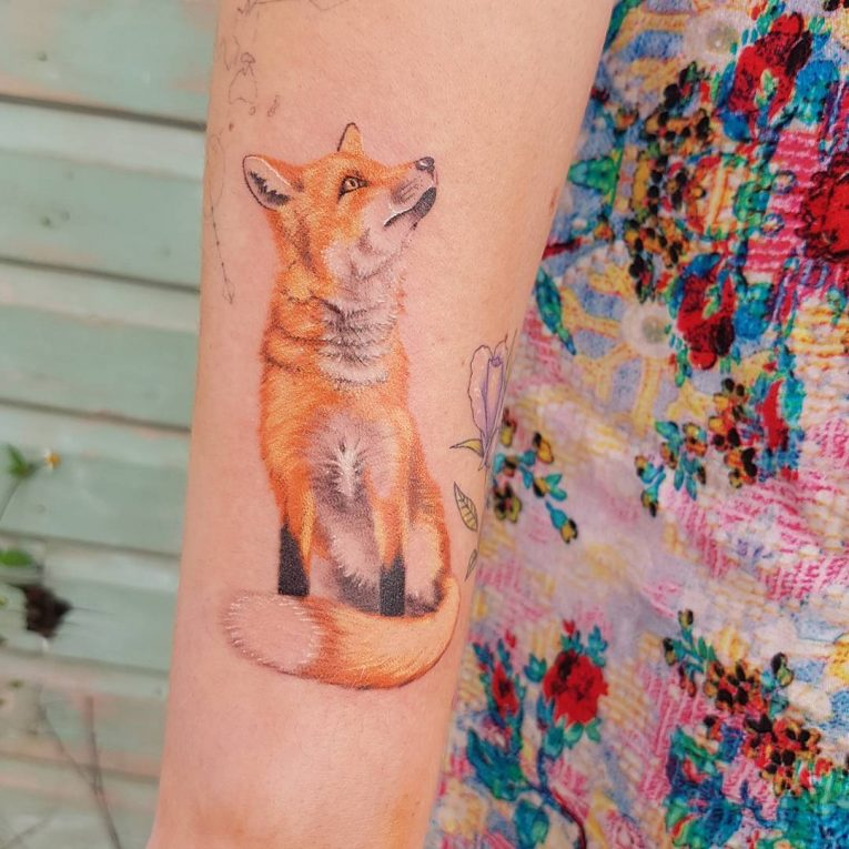 Fox Tattoo 122