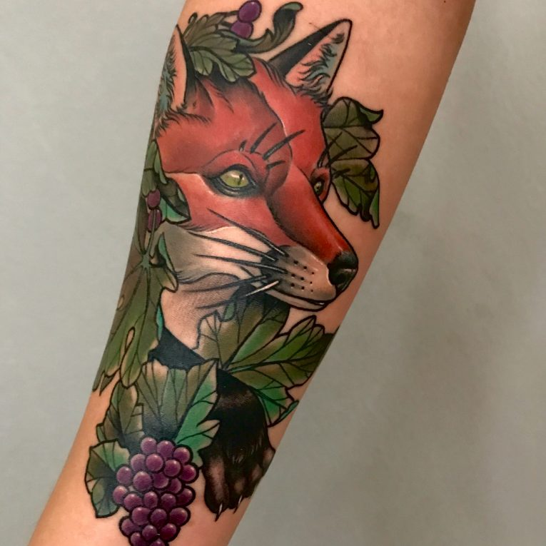 Fox Tattoo 124