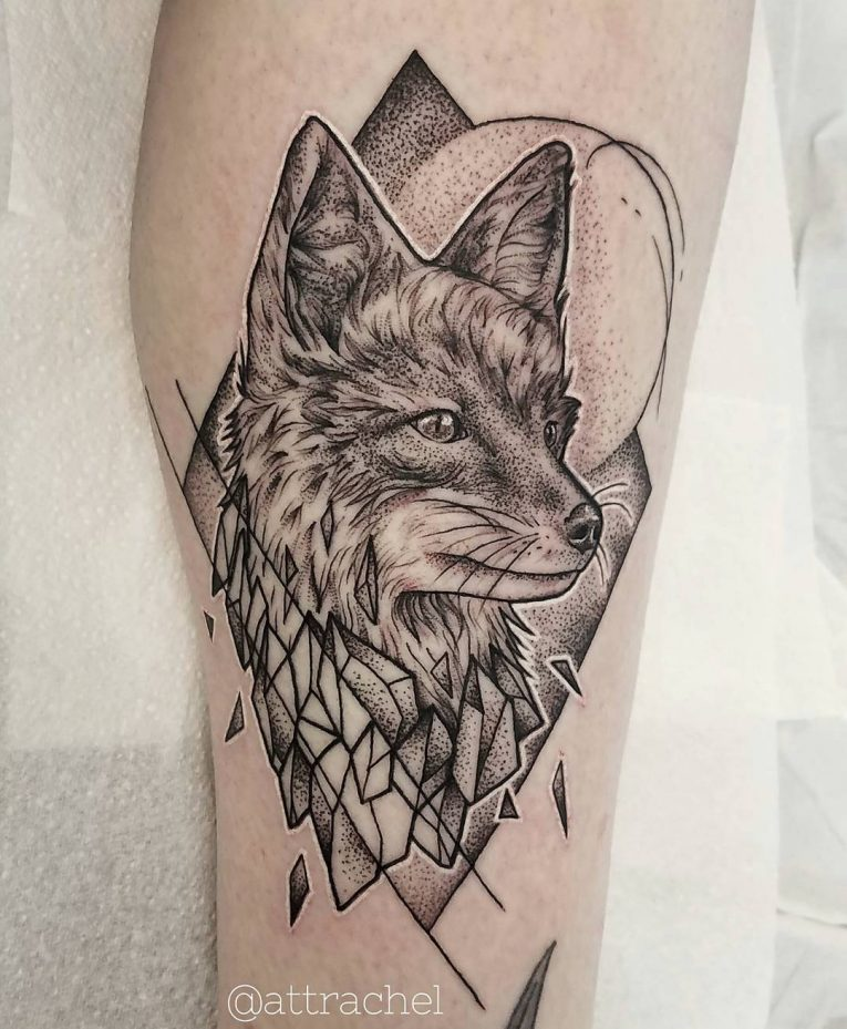 Fox Tattoo 125