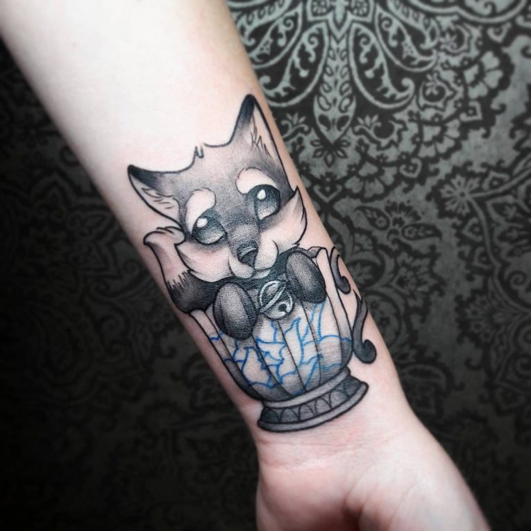 Fox Tattoo 127