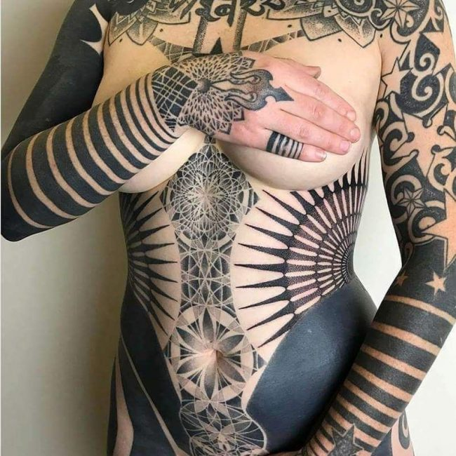 Full Body Tattoo 74