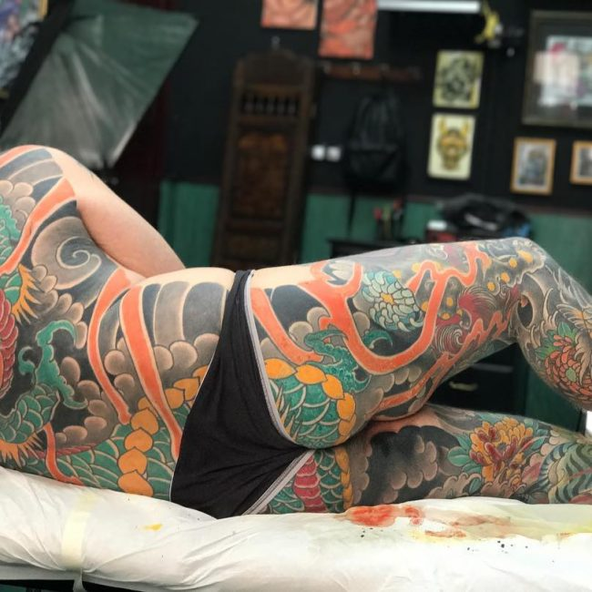 Full Body Tattoo 75