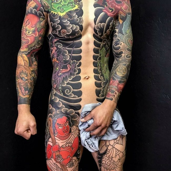Full Body Tattoo 76