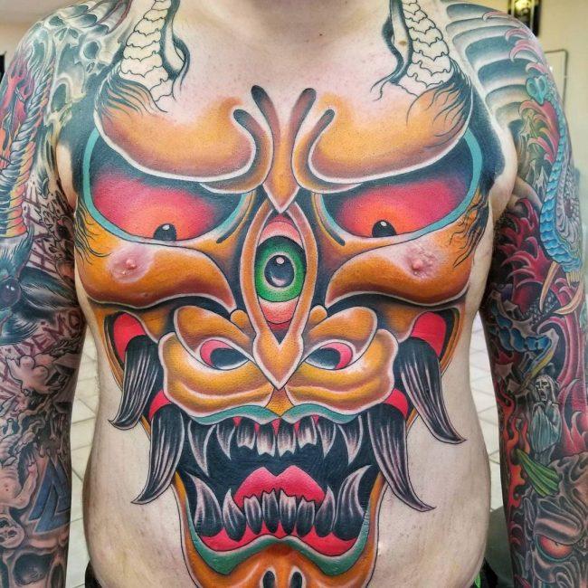 Full Body Tattoo 77