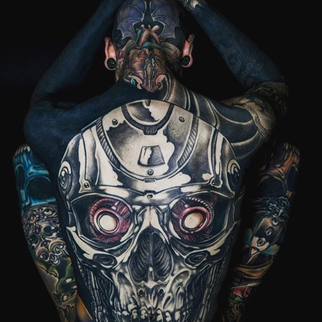 Full Body Tattoo 80