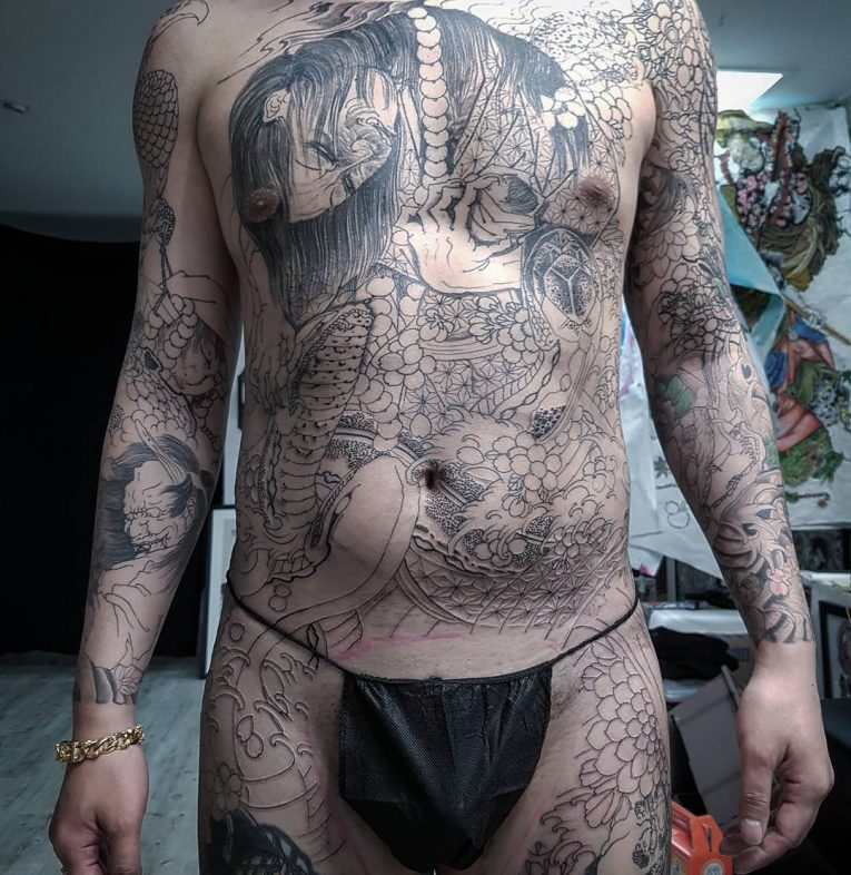 Full Body Tattoo 84