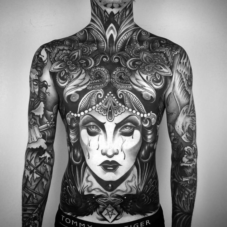 Full Body Tattoo 86