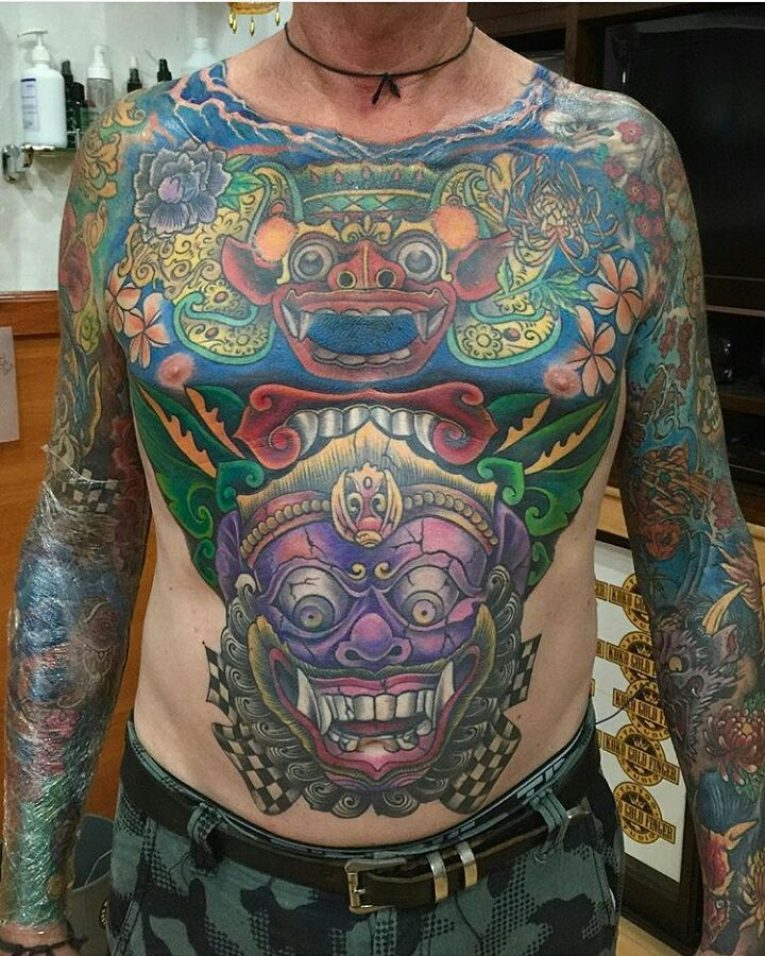 Full Body Tattoo 89