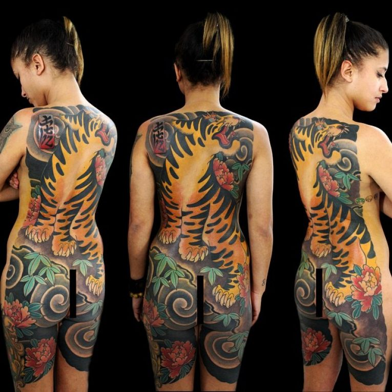 Full Body Tattoo 90