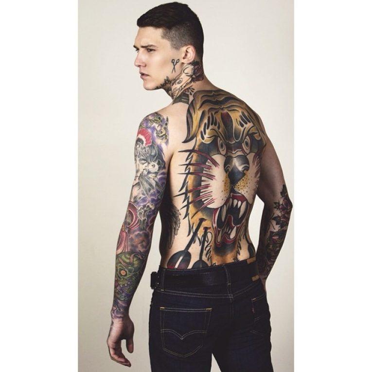 Full Body Tattoo 91