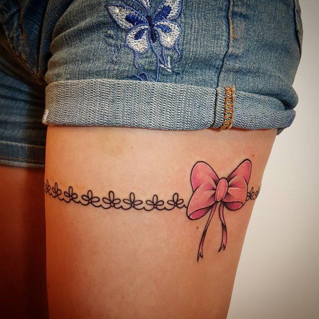 Garter Tattoo 52