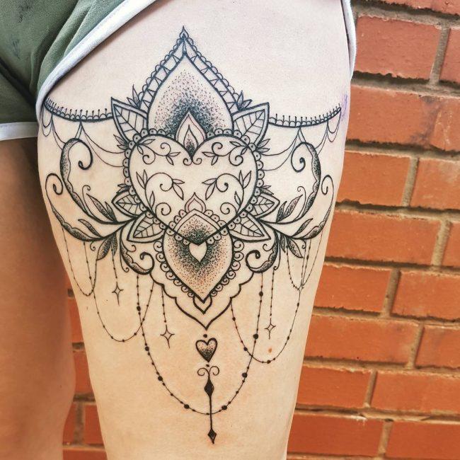 Garter Tattoo 53