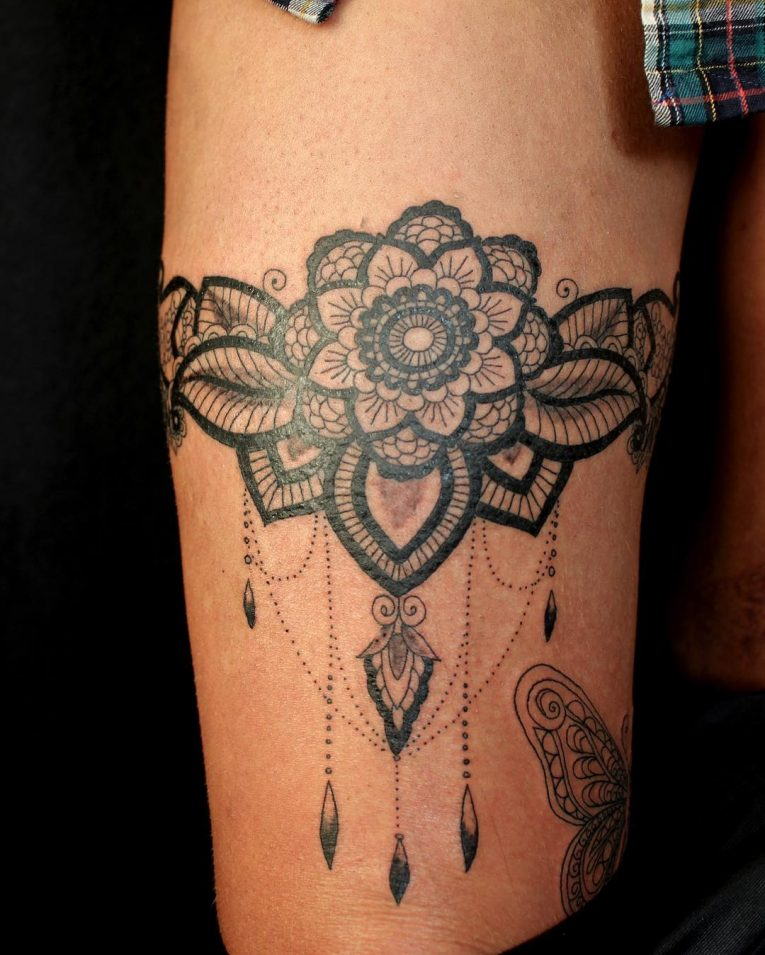 Garter Tattoo 61