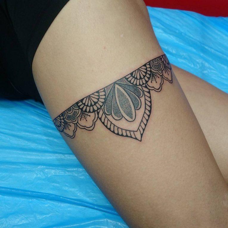 Garter Tattoo 64