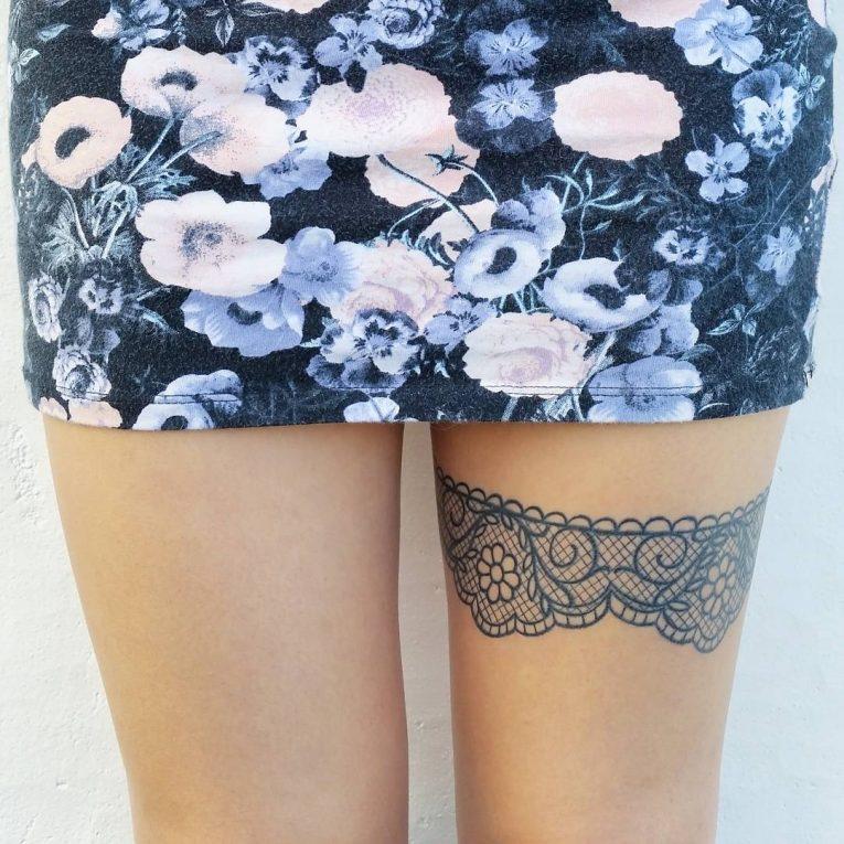 Garter Tattoo 66