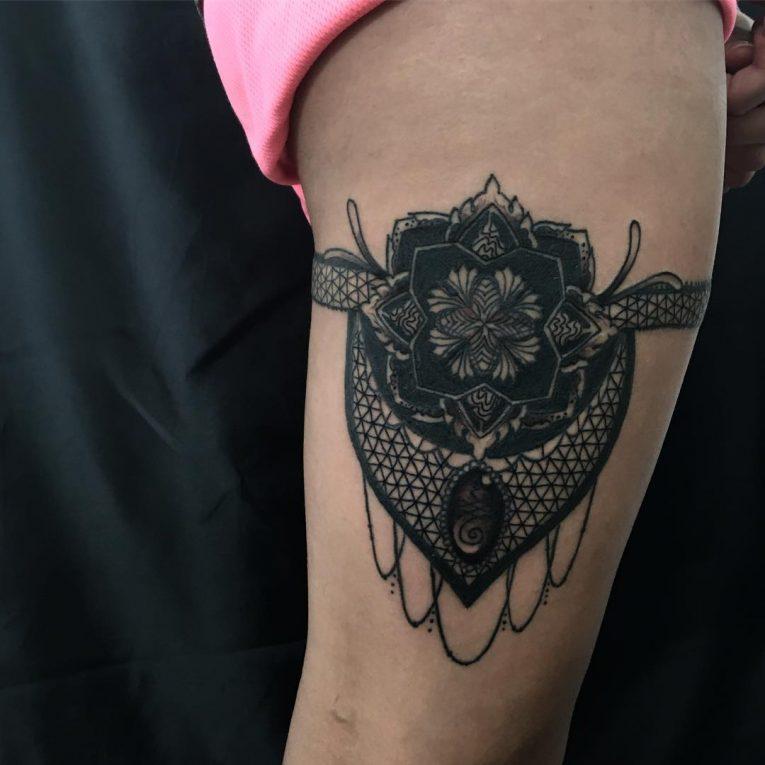 Garter Tattoo 67