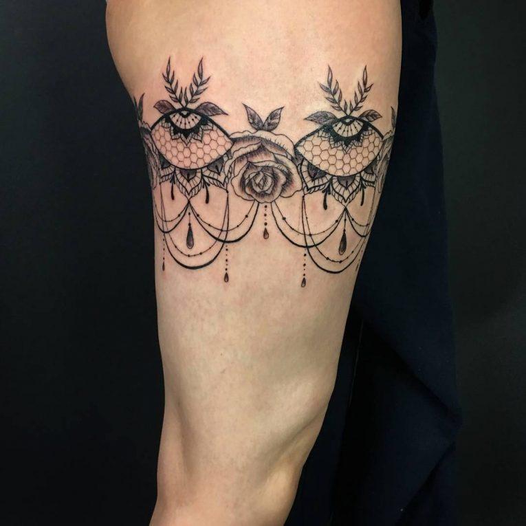 Garter Tattoo 68