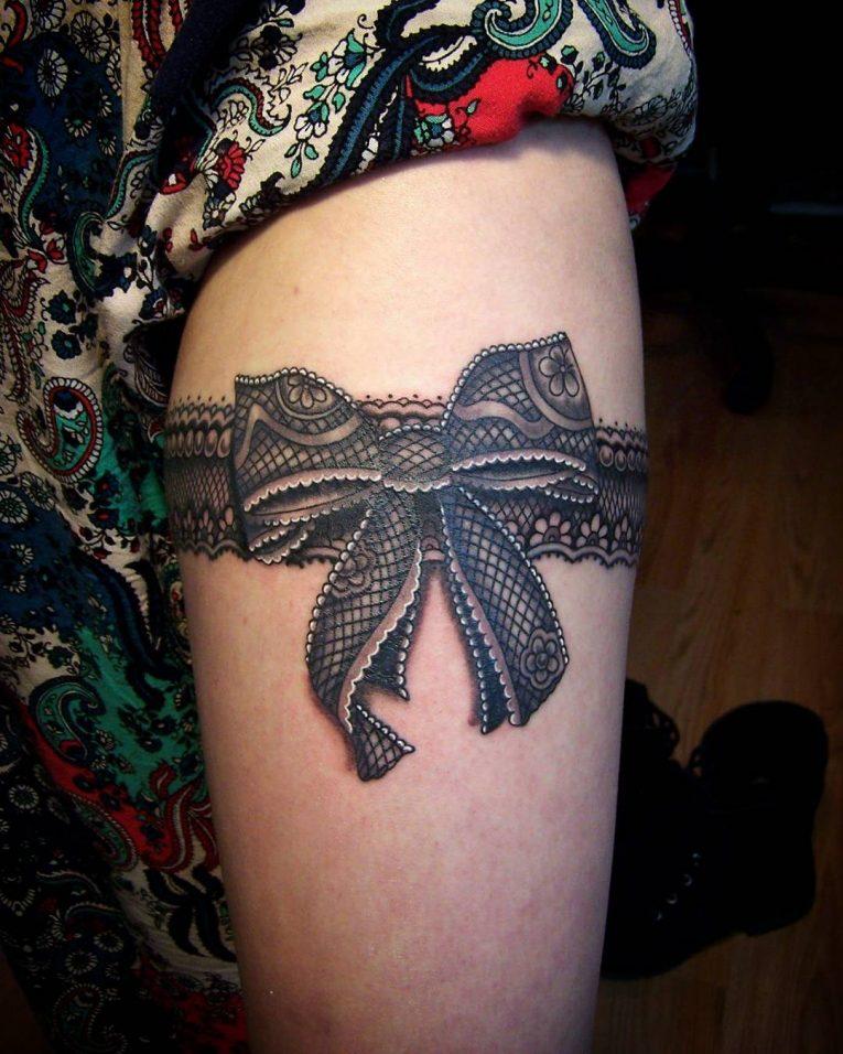 Garter Tattoo 71