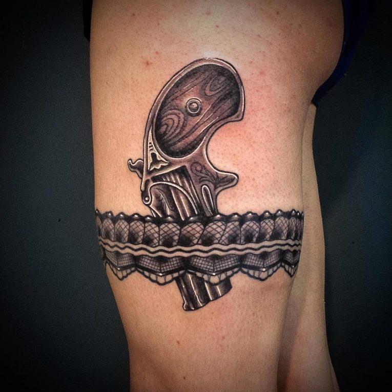 Garter Tattoo 72