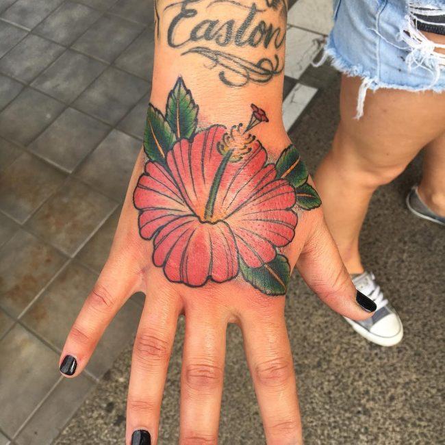 Hand Tattoo 58