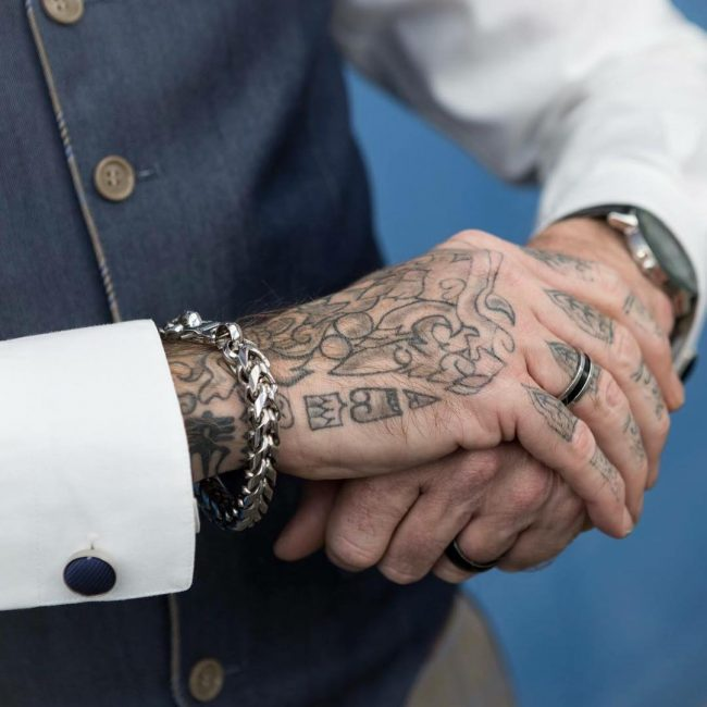 Hand Tattoo 60
