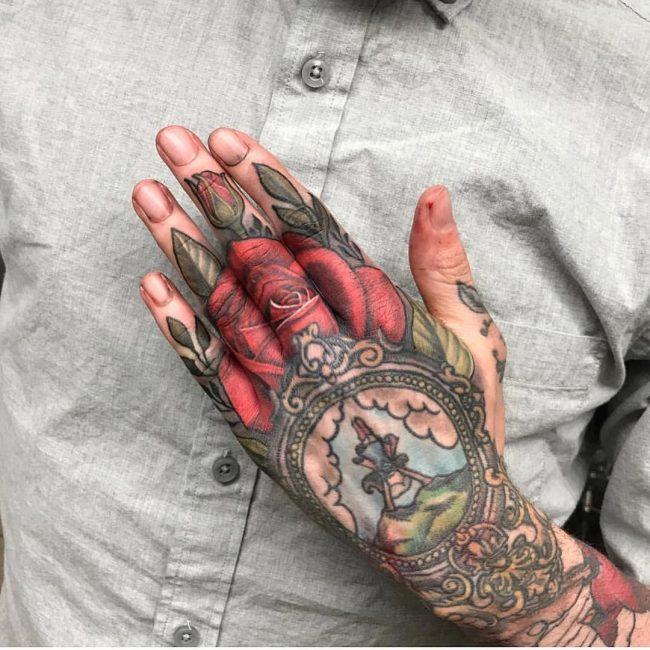 Hand Tattoo 63