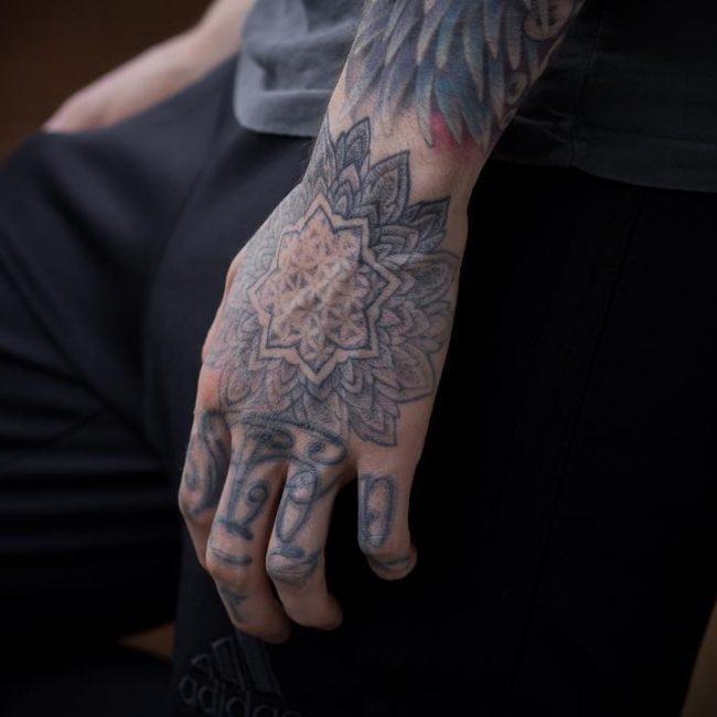 Hand Tattoo 64