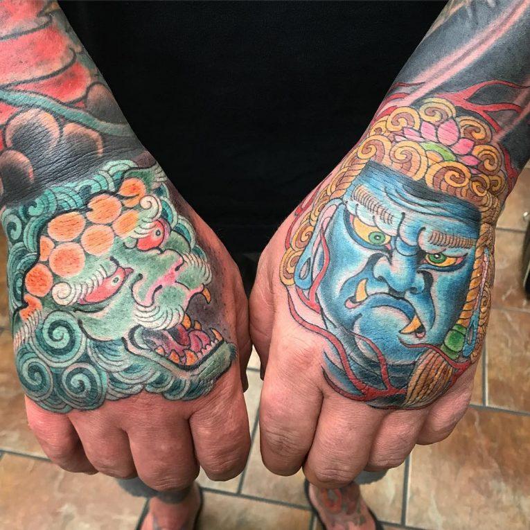 Hand Tattoo 66