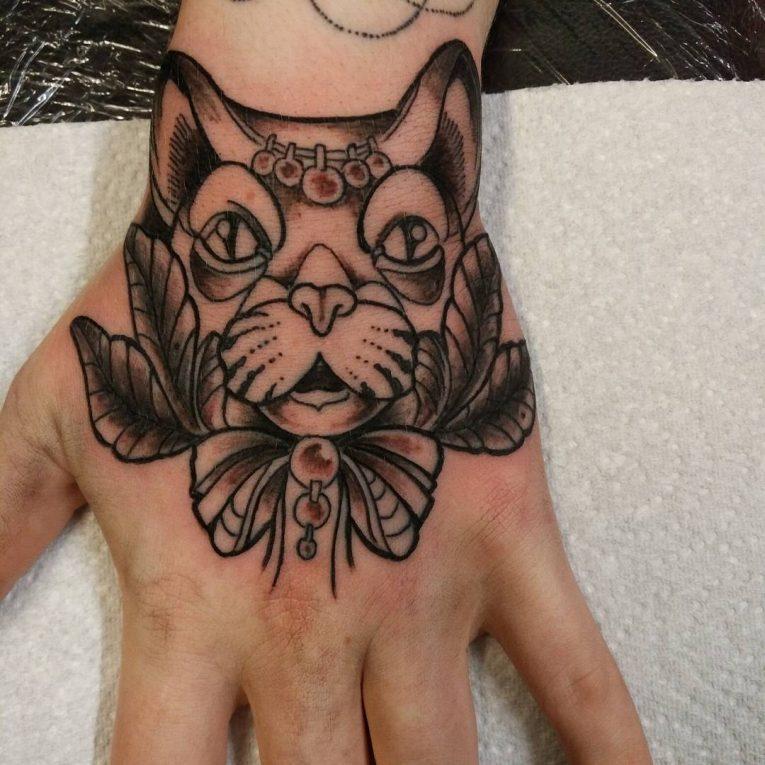 Hand Tattoo 68