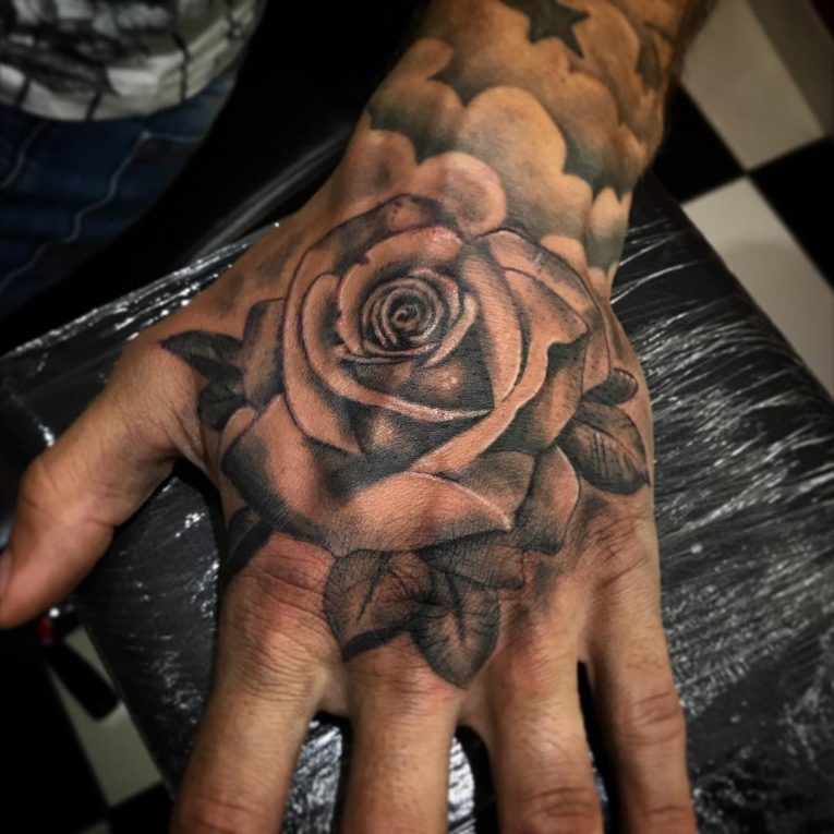 Hand Tattoo 69
