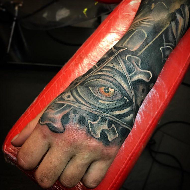 Hand Tattoo 71