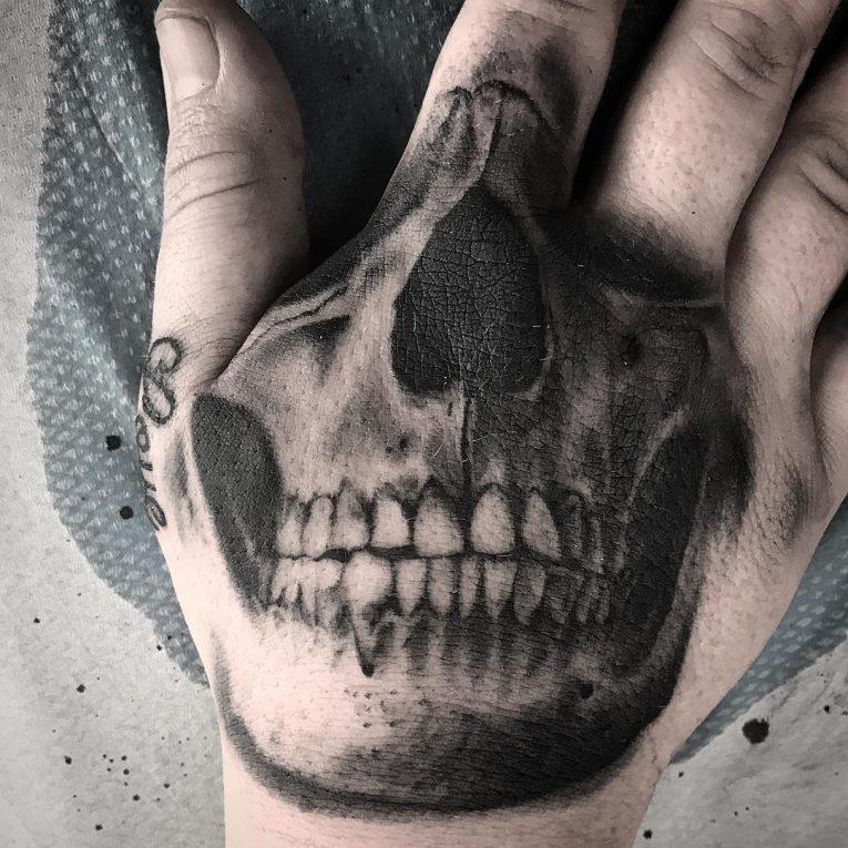 Hand Tattoo 76