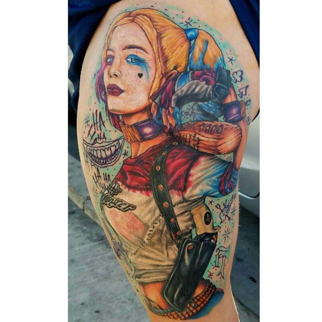 Harley Quinn Tattoo 49