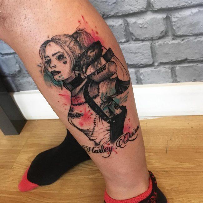 Harley Quinn Tattoo 50