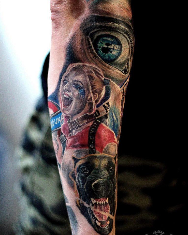 Harley Quinn Tattoo 54