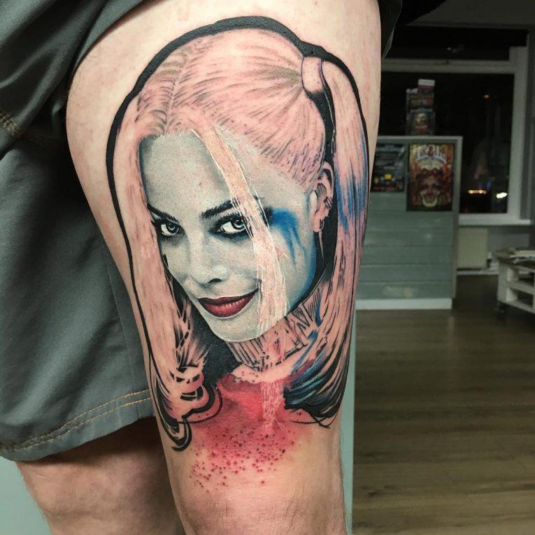 Harley Quinn Tattoo 55