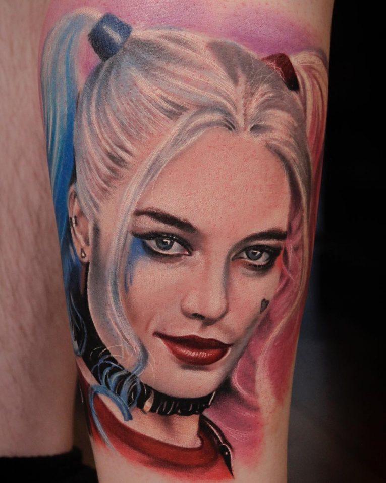 Harley Quinn Tattoo 56
