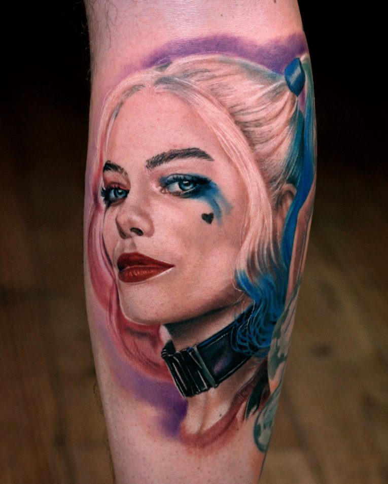 Rotten Tattoo: 60+ Quirky Harley Quinn Tattoo Ideas